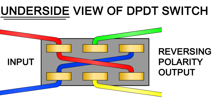 How to wire a DPDT switch
