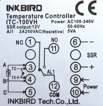 Pid Inkbird Itc 100vh Wiring Usage Overview