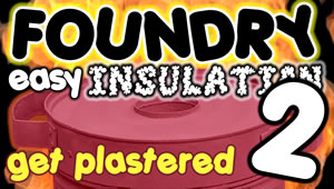 Foundry plaster insuation - View now on YouTube