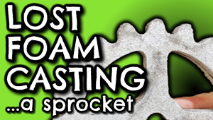 Lost Foam Casting - View now on YouTube
