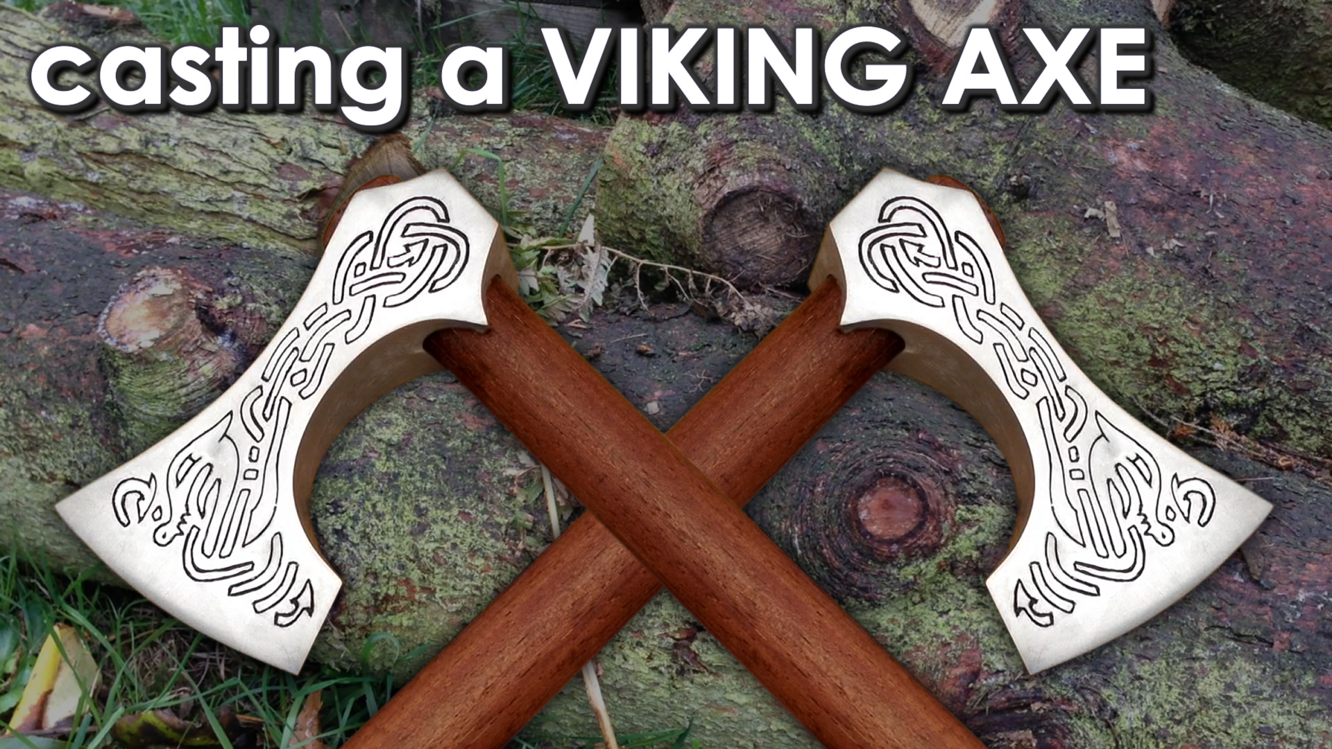 Casting a Viking Axe at home